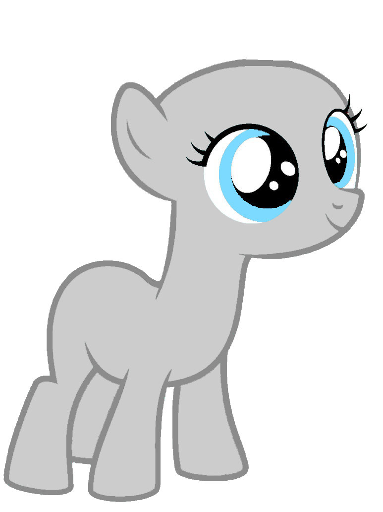 Mlp Earth Filly Excited Base By Cadence121 On Deviantart