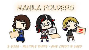 Walfas Props: Manila Folders