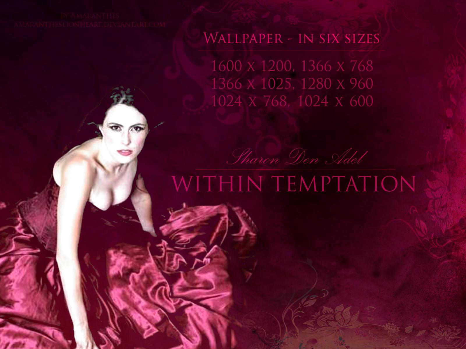 Sharon Den Adel Within Temptation Wallpaper By