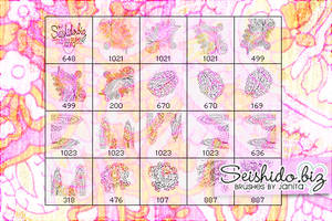 FREE Ornament Paisley Brushes by seishido