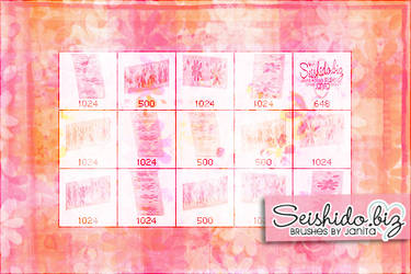 FREE Floral Texture Brushes by seishido