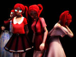 [MMD] Sister Location: Baby pack DL DOWN