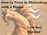 Low-How to Paint with a Mouse
