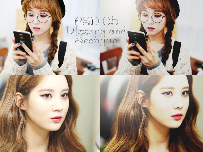 PSD 05: Ulzzang and Seohyun by NhiGian