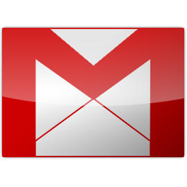 Gmail glossy icon