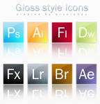Gloss Style Icons