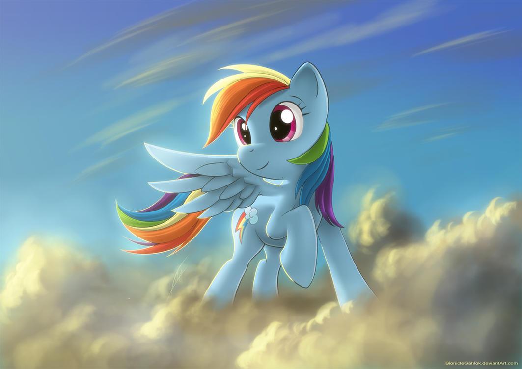Votre fond d'écran Rainbow_dash___fim_by_bioniclegahlok-d42boti