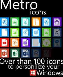 Metro File Type Icons