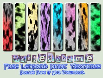 WastedShame - Free Leopard Textures by wastedshame