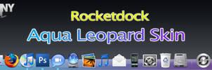 Aqua Leopard Skin - RocketDock