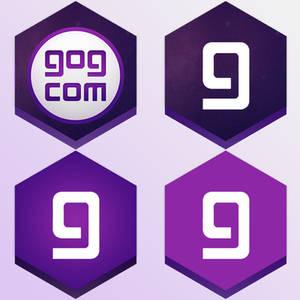 4 GOG Galaxy Honeycomb buttons