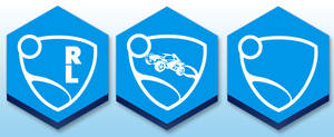Rocket League Honeycomb Rainmeter buttons by Daoneandonlystevy