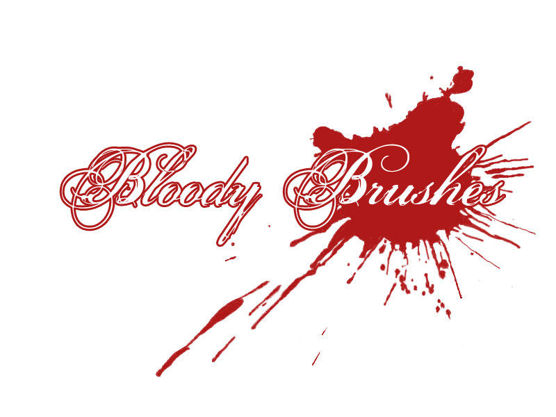 Blood Brushes by dotacy