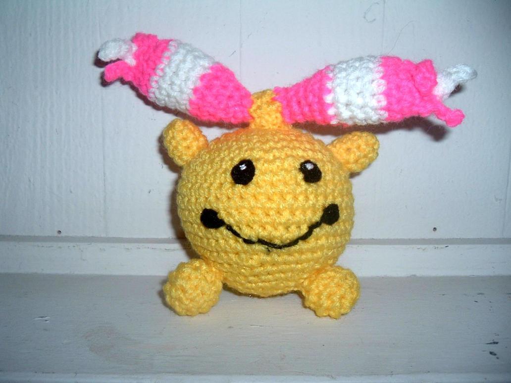 Crochet Patterns Pokemon Characters : Chingling Pokemon Crochet Pattern by Nanettew9 on DeviantArt