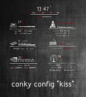 Conky Kiss V3