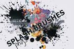 Splash brushes (pngs)