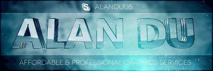 Alan Du :: Animated Signature