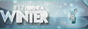 Signature - Winter Hidenka by AlanDu