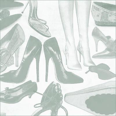 кисти для фотошопа обувь: