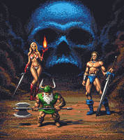 Golden Axe by Wolfenoctis