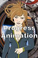 Natalie Progress Animation by xechon