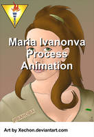 Maria Ivanova Process Animation by xechon