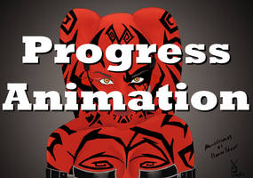 MoguCosplay as Darth Talon Progress Animation by xechon