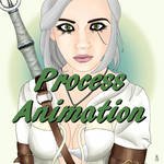 MoguCosplay as Ciri Process Animation