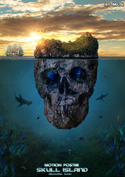 Skull Island PSd File Photoshop by aman150611