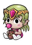 Infant Zelda Commission by RiverCocytus