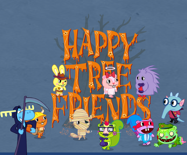 Happy Tree Friends Halloween by agmu
