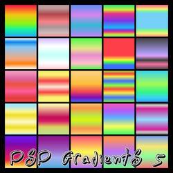 PSP Gradients 5