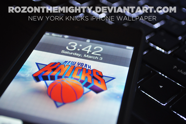 New York Knicks IPhone Wallpaper By Rozonthemighty