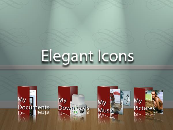 Elegant Icons by xtian