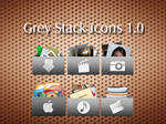 Grey Stack Icons