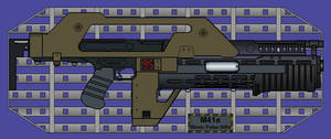 The M41A Pulse Rifle