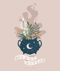 Plant Witch Cauldron