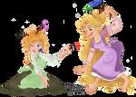 Art Time! - Rapunzel And Anna