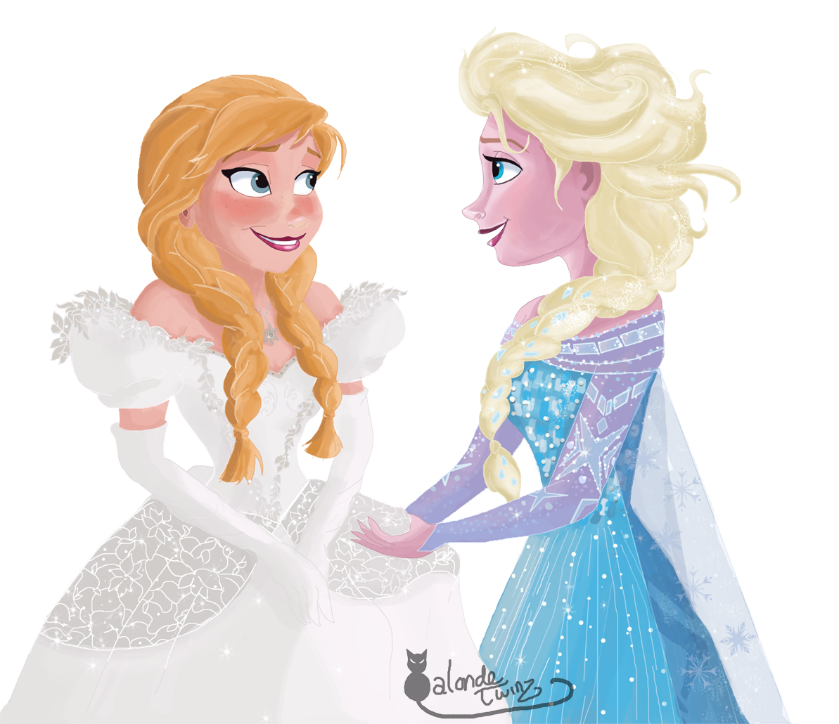 Anna and Elsa  Ouat  Anna's Wedding Dress by Wiccatwolf on DeviantArt