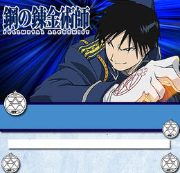 Roy Mustang Journal Skin by trinityrenee