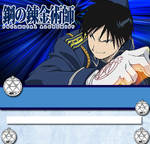 Roy Mustang Journal Skin