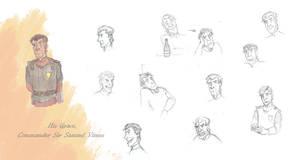 Character sheet 1: Sam Vimes by artsytarts