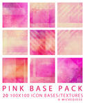 Pink Icon Base Pack