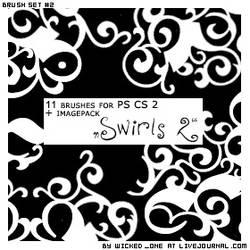 PS CS2 Brushset Deco Swirls 2