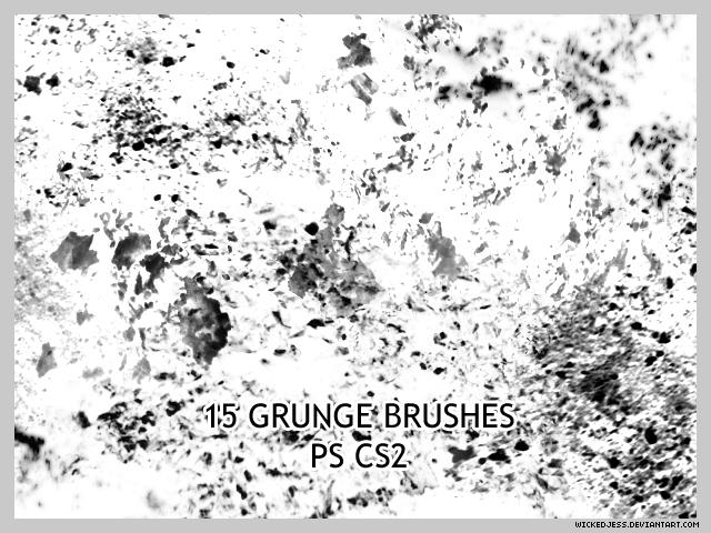 15 Grunge Brushes for CS2