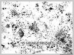 15 Grunge Brushes for CS2