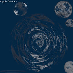 Ripple Brushes by Sneakiki
