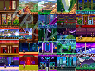 (MUGEN) Freedom Planet Stages