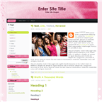 Pink theme by wastematerials
