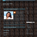 Wood BG theme by wastematerials